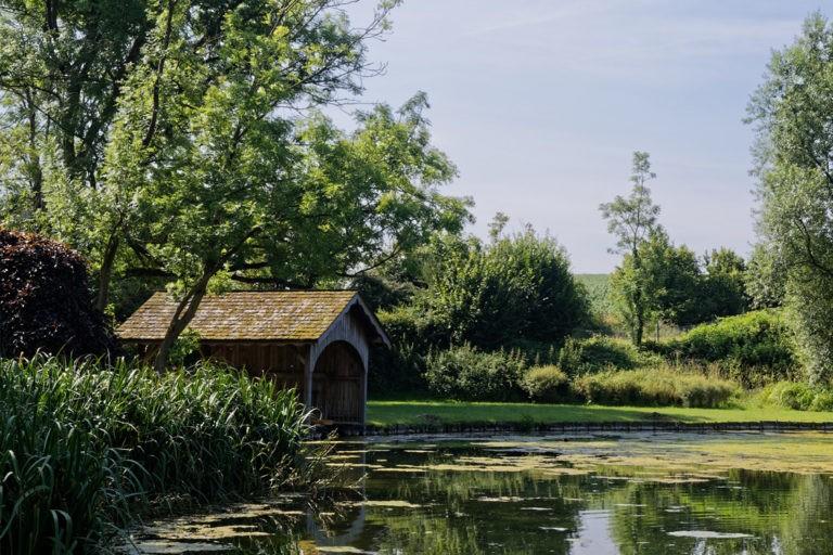 Photo étang naturel - Qreative projet Ferrard